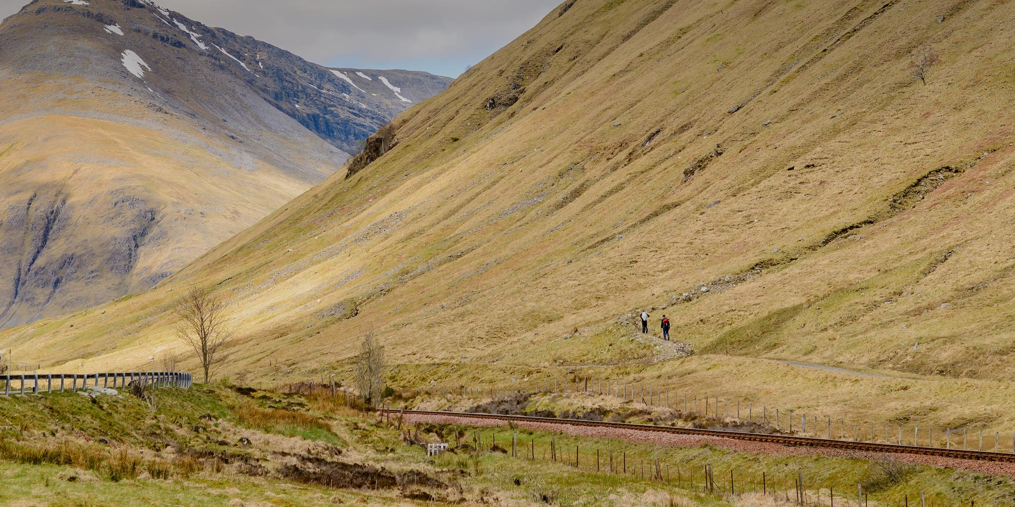 A walkers paradise on the most picturesque part of the West Highland Way